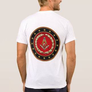 [700] Masonic Square and Compasses [3rd Degree] Shirts