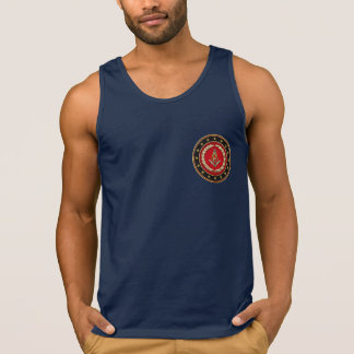 [700] Masonic Square and Compasses [3rd Degree] Tank Tops