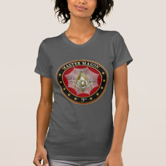 [700] Master Mason - 3rd Degree Square & Compasses T-Shirt