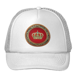 [700] Prince-Princess King-Queen Crown [Belg.Gold] Trucker Hat
