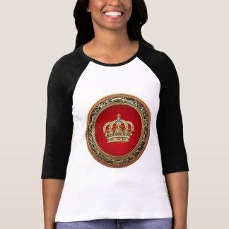 [700] Prince-Princess King-Queen Crown [Belg.Gold] T-Shirt
