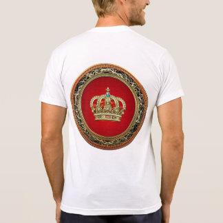 [700] Prince-Princess King-Queen Crown [Belg.Gold] Tshirts
