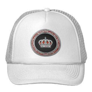 [700] Prince-Princess King-Queen Crown [Silver] Trucker Hat