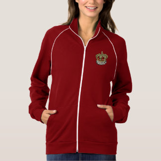 [700] Prince-Princess Royal Crown [Fur+Gold][Red] Jacket