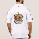 [700] Prince-Princess Royal Crown [Fur+Gold][Red] Polo Shirt