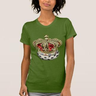 [700] Prince-Princess Royal Crown [Fur+Gold][Red] T-Shirt