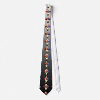 [700] Rosy Cross (Rose Croix) Neck Tie