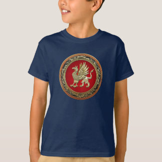 [700] Sacred Gold Griffin T-Shirt