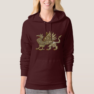 [700] Sacred Golden Griffin Hoodie