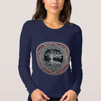 [700] Treasure Trove: Celtic Tree of Life [Silver] Tee Shirt