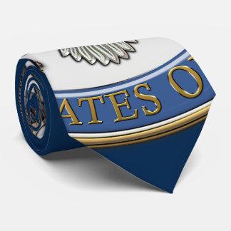 [700] U.S. Department of State (DoS) Emblem [3D] Neck Tie