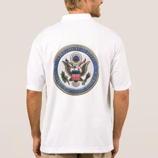 [700] U.S. Department of State (DoS) Emblem [3D] Polo Shirt