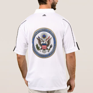 [700] U.S. Department of State (DoS) Emblem [3D] Polo T-shirt
