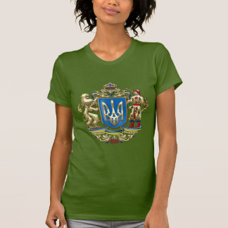 [700] Ukraine: Proposed Greater Coat of Arms Tee Shirts