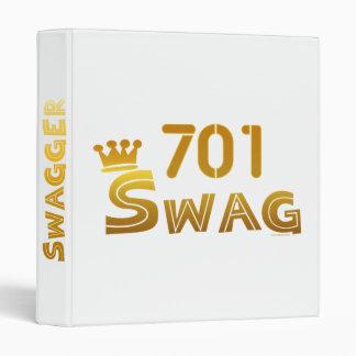 701 North Dakota Swag Binder