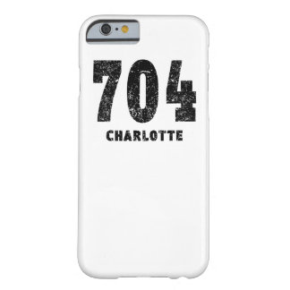 704 Charlotte Distressed Barely There iPhone 6 Case