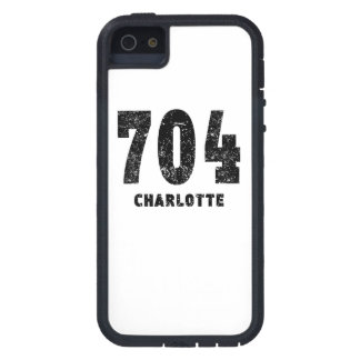 704 Charlotte Distressed iPhone 5 Cases