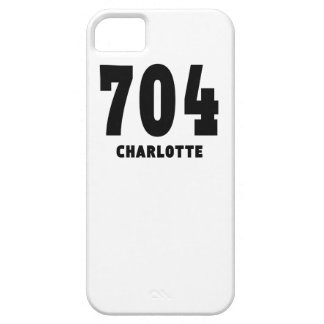 704 Charlotte iPhone 5 Cases