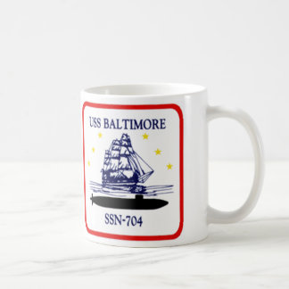 704-Insignia_of_SSN-704_Baltimore Classic White Coffee Mug