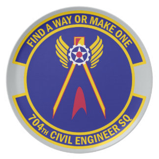 704th Civil Engineer Squadron Plate
