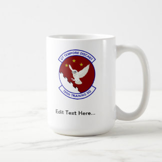 705 TRS, Senior Pilot Wings, Custom Text Classic White Coffee Mug