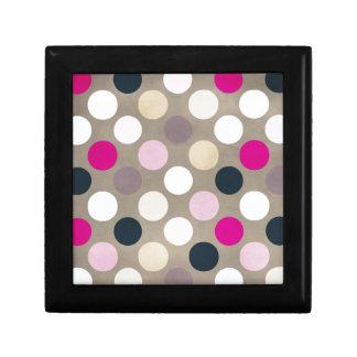 7096_polka-dots-44-pink-brown POLKA DOTS HOT PINK Gift Box