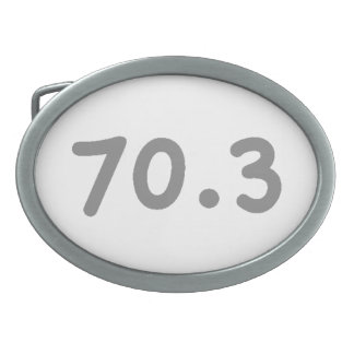 70.3 OVAL BELT BUCKLE
