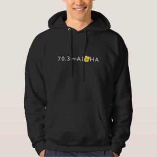 70.3 with Aloha Men's Basic Hooded Sweatshirt - Dk