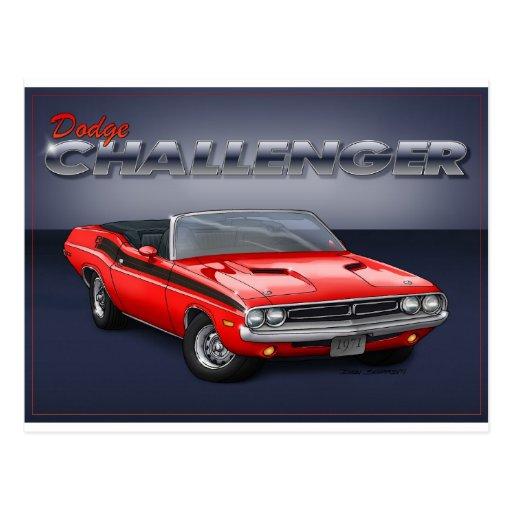 70-72 Challenger Post Card