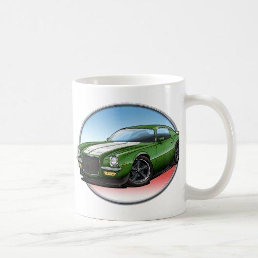 70-73 Green W Camaro.png Mug