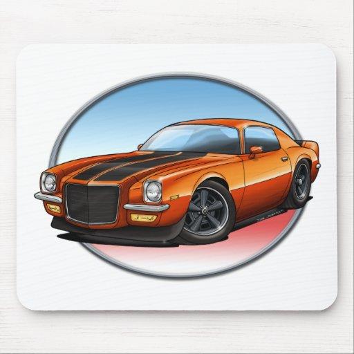 70-73 Orange B Camaro.png Mouse Pads