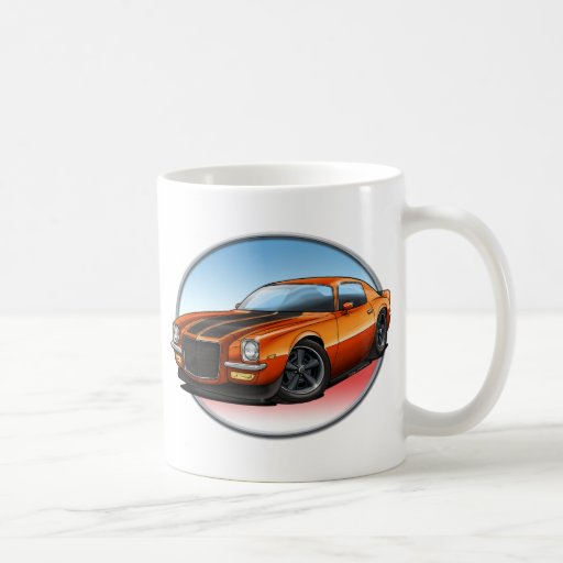 70-73 Orange B Camaro.png Coffee Mug