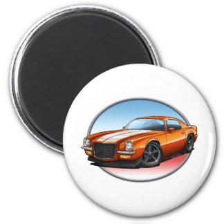 70-73 Orange W Camaro.png Magnet