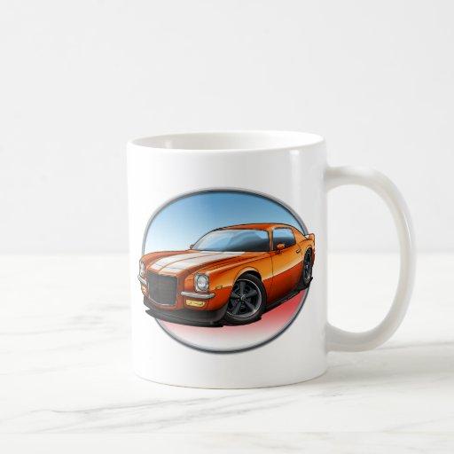 70-73 Orange W Camaro.png Mug