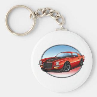70-73 Red B Camaro.png Key Chain