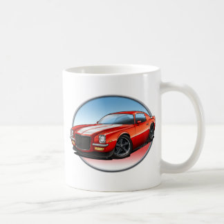 70-73 Red W Camaro.png Coffee Mug