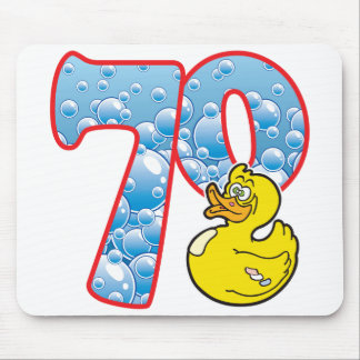 70 Age Duck Mouse Pad