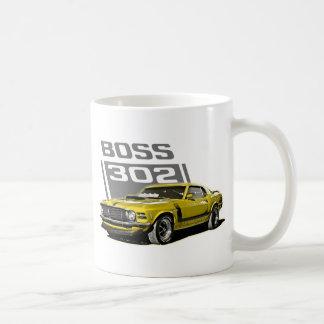70 amarillo de Boss 302 Taza