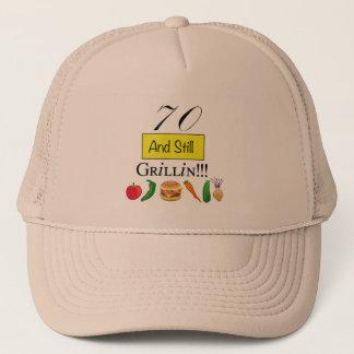 70 and still grillin! Ball Cap