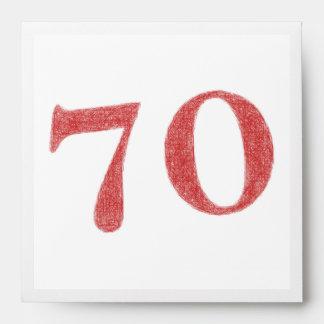 70 años de aniversario sobre