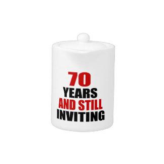 70 años todavía que invitan