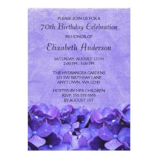 70 as invitaciones de la fiesta de cumpleaños de l invitación personalizada