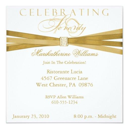 70.as invitaciones elegantes de la fiesta de invitación 13,3 cm x 13,3cm