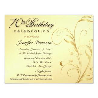70.as invitaciones elegantes del fiesta de comunicados personalizados