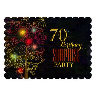 70.as invitaciones modernas de la fiesta de invitación 12,7 x 17,8 cm