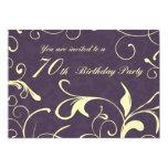 70.as tarjetas de la invitación de la fiesta de invitación 12,7 x 17,8 cm