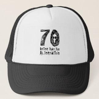 70 Better Than Alternative 70th Funny Birthday Q70 Trucker Hat