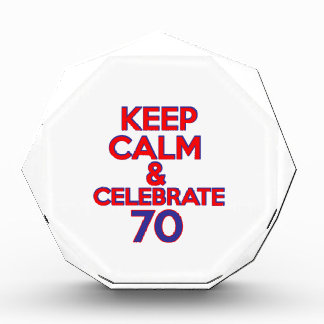 70 BIRTHDAY DESIGN AWARD