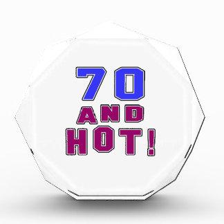 70 birthday designs awards