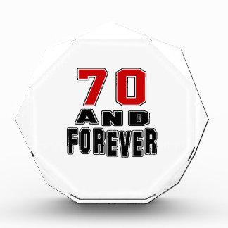 70 birthday designs award